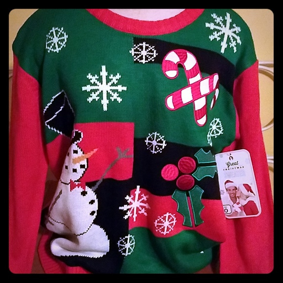 great Christmas sweater Sweaters - Ugly Christmas sweater snowman